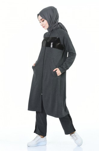 Anthracite Sweatsuit 7014-04
