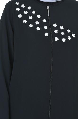 Black Abaya 8302-01