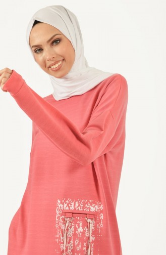 Dusty Rose Sweatshirt 1460-01