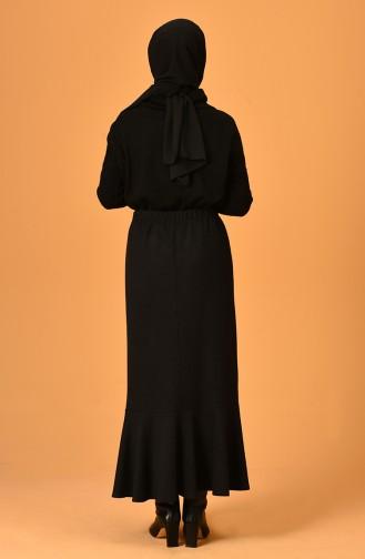 Jupe Noir 3014H-01