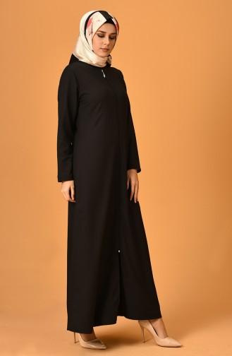 Black Abaya 2129-06