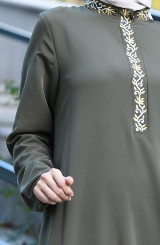 Khaki Dress 8019-02