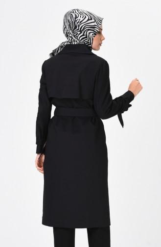 Schwarz Trench Coats Models 90006-01