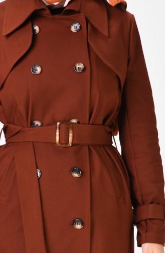 Ziegelrot Trench Coats Models 90006-02