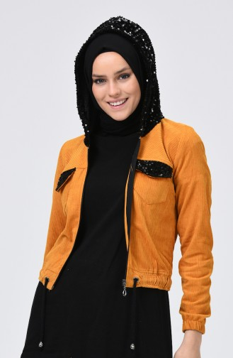 Veste Moutarde 6065-01