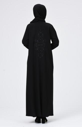 Schwarz Abayas 1076-01