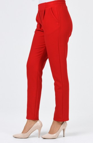 Pantalon avec Poches 1146PNT-03 Rouge 1146PNT-03