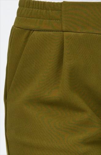 Pileli Cepli Pantolon 1146PNT-06 Haki