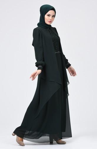 Emerald İslamitische Avondjurk 52765-04