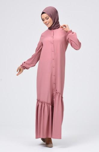 Robe Hijab Poudre 4503-01
