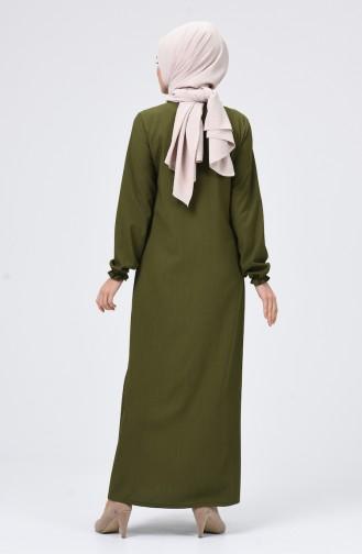 Robe Hijab Khaki 4503-03