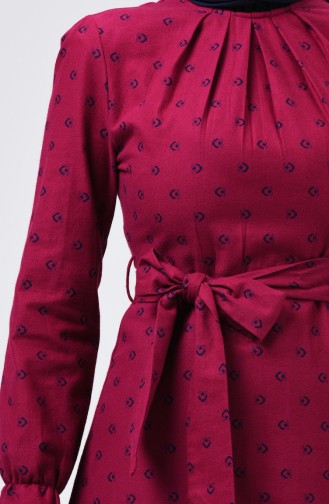 Robe Hijab Plum 60074-01