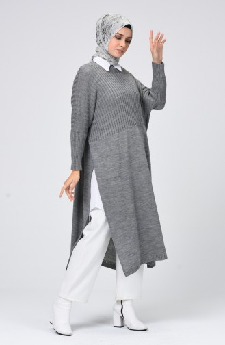 Gray Poncho 0545-04