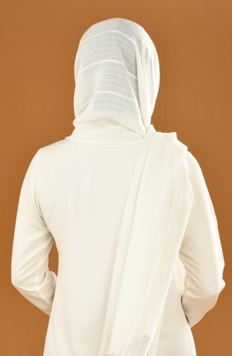 White Shawl 17-0022-08