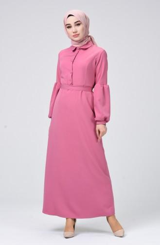 Dusty Rose Dress 2699-08
