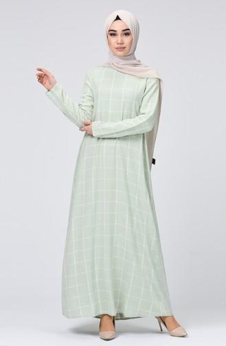 Water Green İslamitische Jurk 8021-01