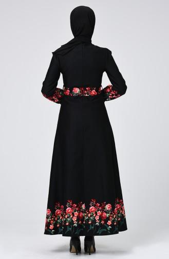 Black İslamitische Jurk 60069-01