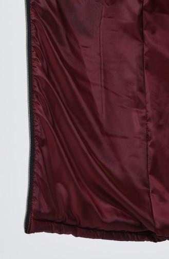 Claret red Gilet 5141-02