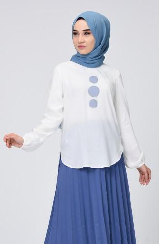 White Blouse 8008-01
