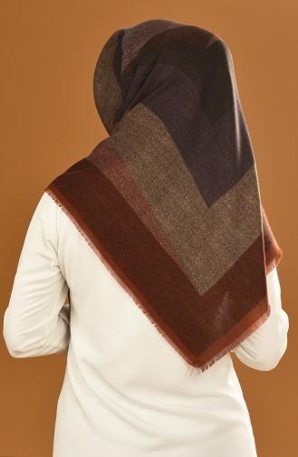 Brown Hoofddoek 90624-09