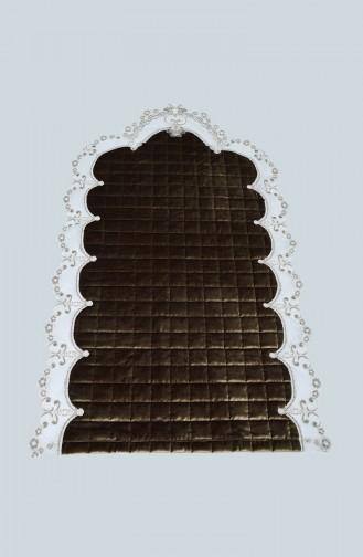 Tapis de Prière Vert khaki clair 1000-07