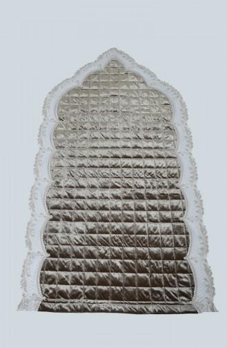 Tapis de Prière Vert khaki clair 1002-11