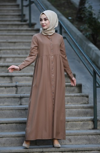 Robe Hijab Camel 5037-14