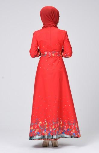 Robe Hijab Corail 60065-01