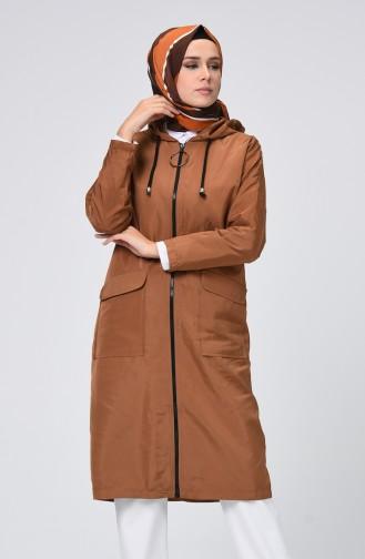 Brown Raincoat 1020-02