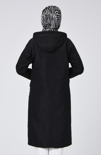Imperméable Noir 1020-05