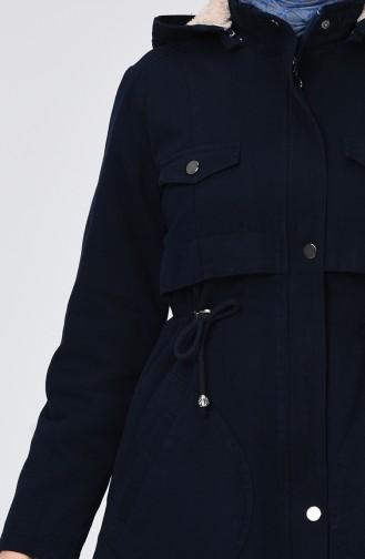 Caban Bleu Marine 7105-01
