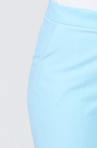 Pantalon Simple avec Poches 2062-02 Bleu Marine Foncé 2062-04