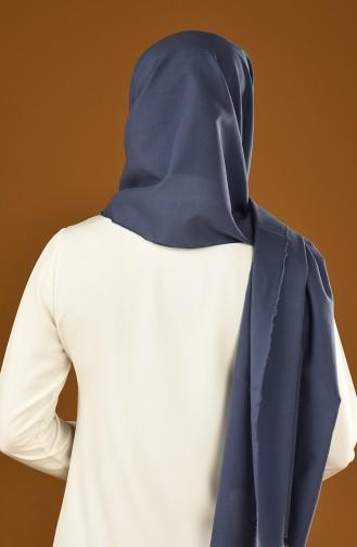 Casual Châle Coton 19-0001-02 Bleu Marine 19-0001-02