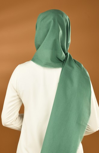Casual Cotton Shawl Green 19-0001-05