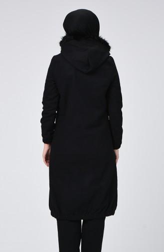 Black Long Coat 5278-02
