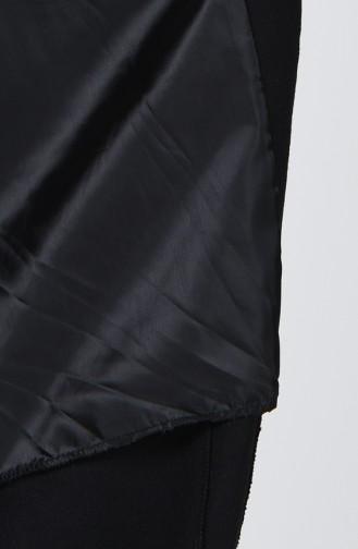 Black Lange Jas 5278-02