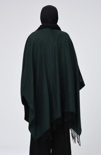 Grass Green Poncho 901555-04