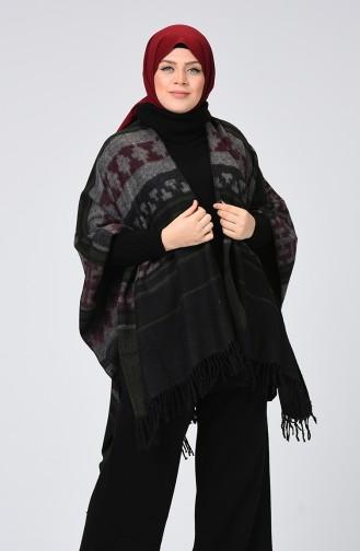Dark Khaki Poncho 901555-26
