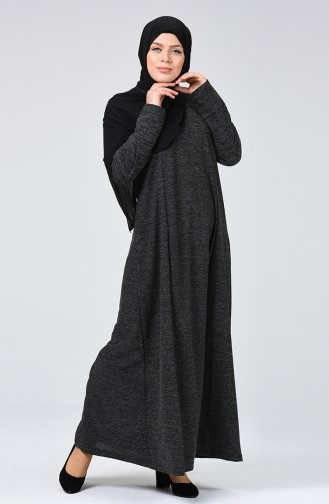 Robe Hijab Noir 8046-03