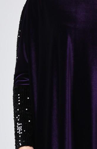 فستان أرجواني 1077-01
