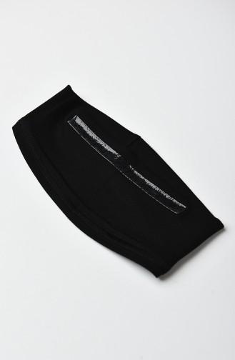 القبعات أسود 0501-01