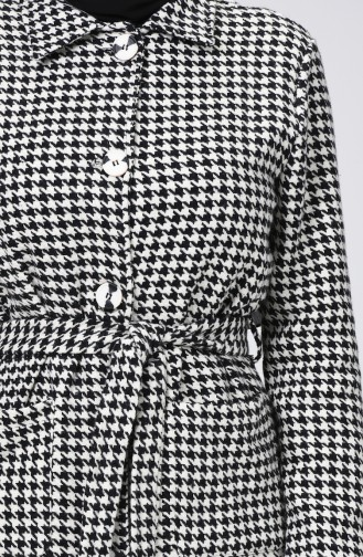 White Long Coat 1299-01