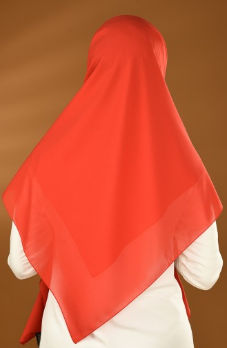 Châle Echarpe Crêpe  13151-07 Rouge 13151-07