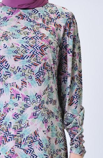 Robe Hijab Bleu Marine 1325-01