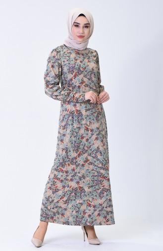 Robe Hijab Bleu Marine 1325-02