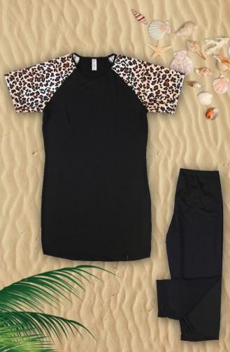 Black Swimsuit Hijab 1922-01