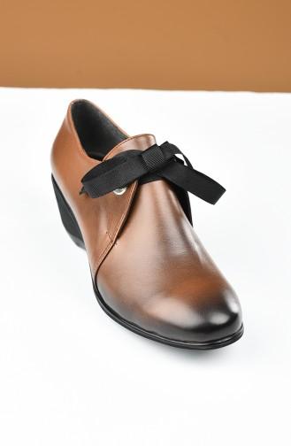 أحذية الكعب العالي أخضر تبغ 27705-01