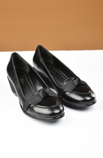Black Heeled Shoes 27709-01