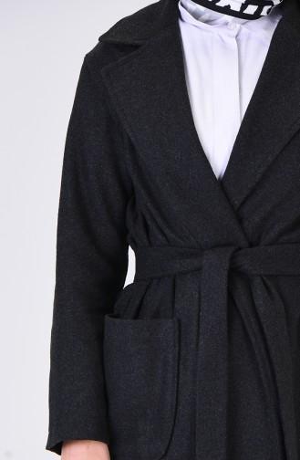 معطف طويل فحم الإنتراسيت 6035-05