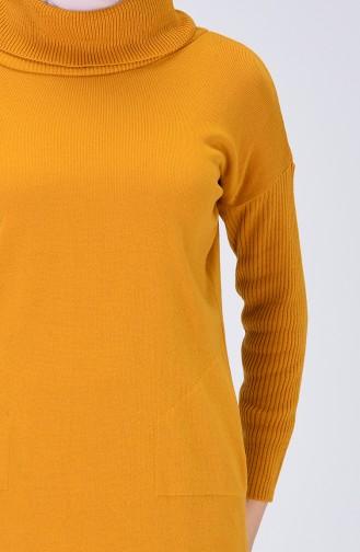 سترة أصفر خردل 0508-06